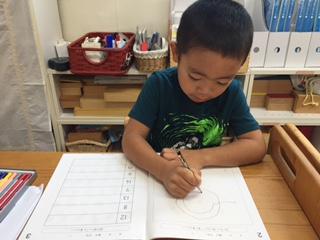 知能開発クラス・年中児