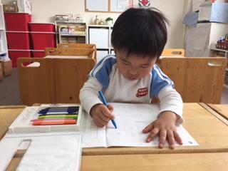 知能開発クラス・年少児